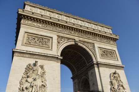 the Arc De Triumph