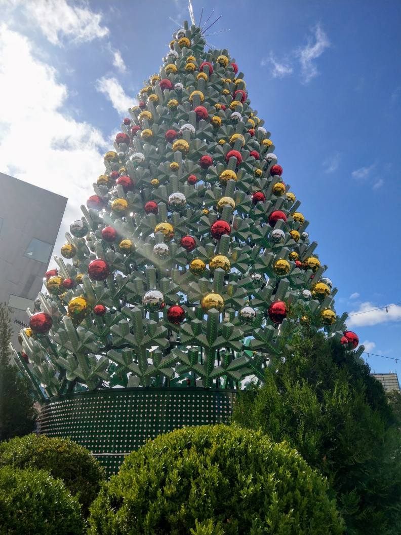 Christmas at federation square
